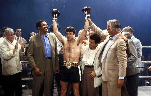Raging Bull de Martin Scorsese avec Joe Pesci et Robert De Niro 1980
