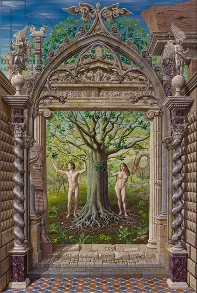 The Tree of Life, 2005 (oil on canvas)