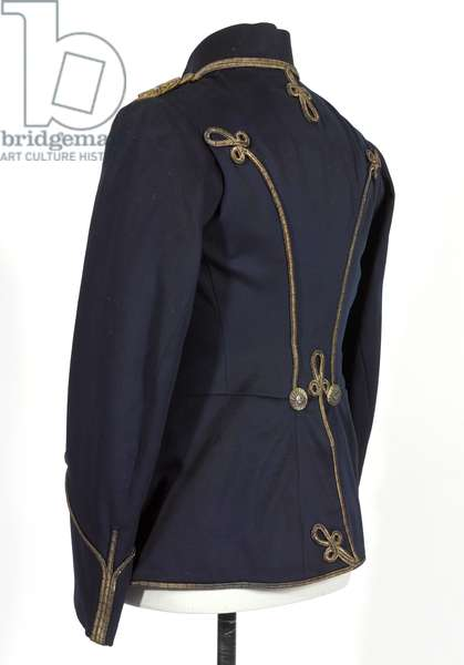 Tunic, HRH The Duke of Connaught, 3rd von Zieten Hussars, German Army, pre-1914 (tunic)