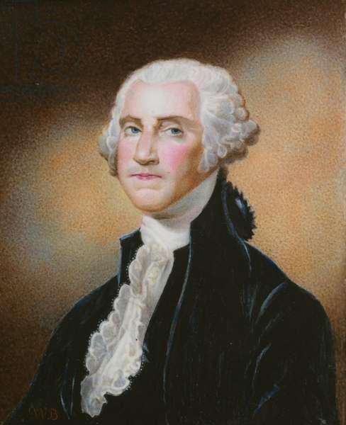 George Washington (1732- 1799), 1810-20 (enamel on copper)