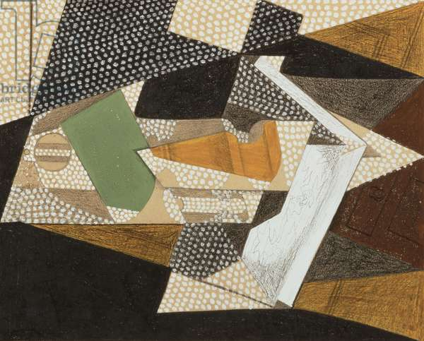 The Lamp, 1916 (watercolour, pencil and charcoal on board)