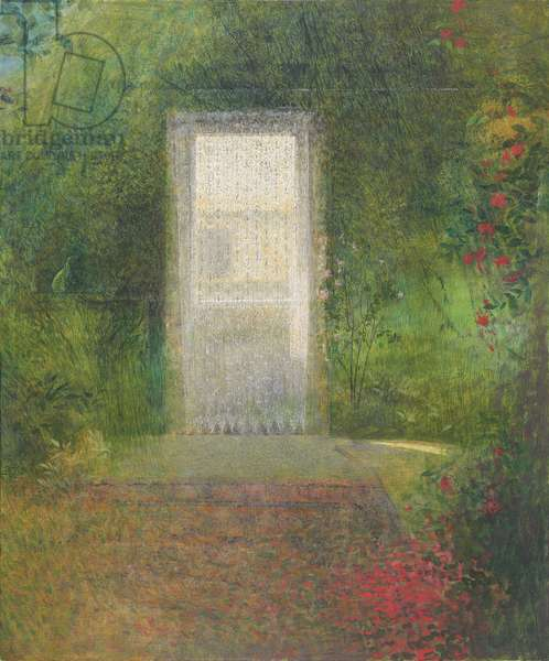 Reflection from the garden, 1991 (tempera on board)