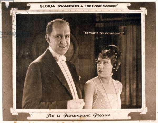 The Great Moment de Sam Wood avec Gloria Swanson 1921
