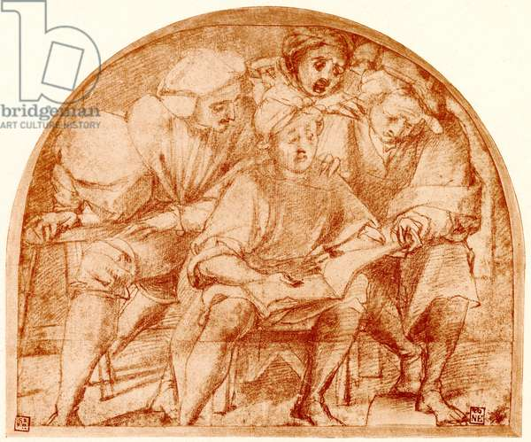 Group of four singers