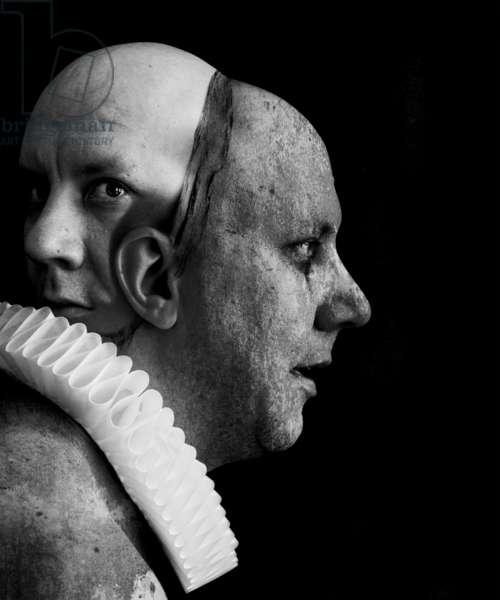 A clowns death (serie), 2014 (photo manipulation)