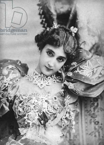 Carolina Otero aka La Belle Otero (1868-1965) spanish courtesan and dancer