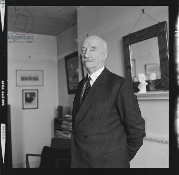 Sir Adrian Boult CH, 1973 (b/w photo)