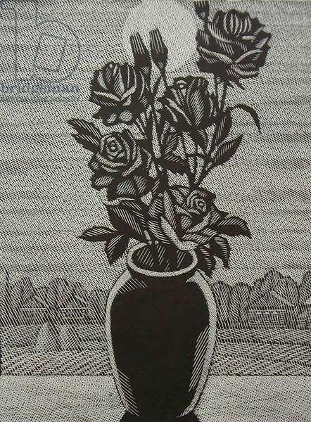 Black Roses, 1998 (linocut)