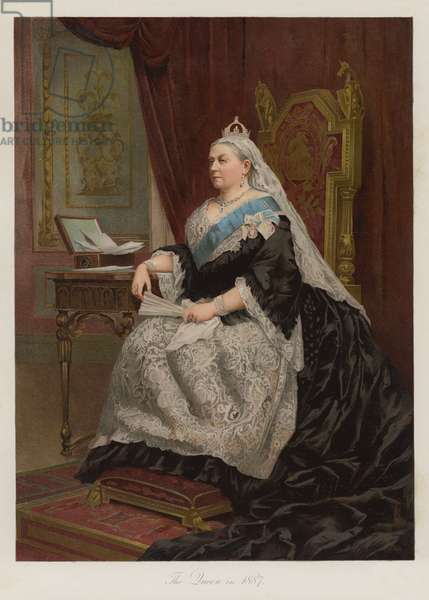 The Queen in 1887 (chromolitho)