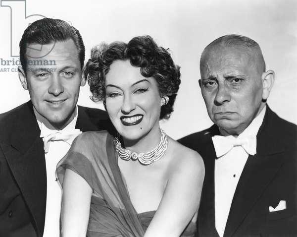 William Holden, Gloria Swanson And Erich Von Stroheim