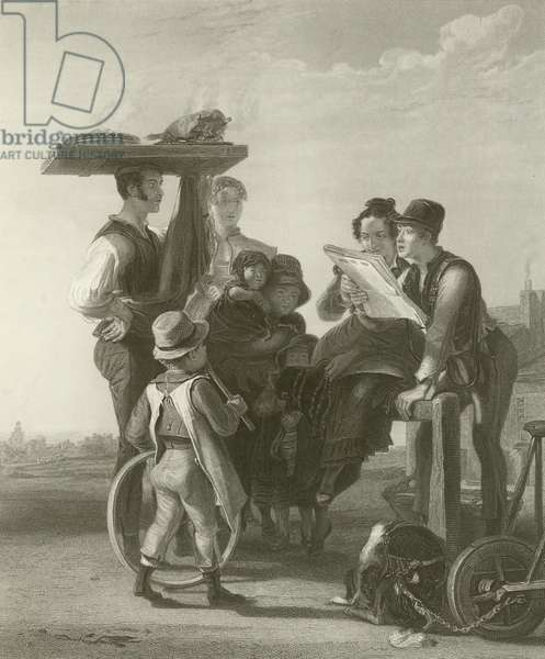 Reading the News (engraving)