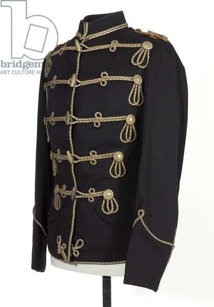 Tunic, HRH The Duke of Connaught, 3rd Zieten Hussars, German Army, pre-1914 (tunic)