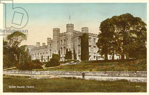 Scone Palace, Perth, Scotland (colour photo)