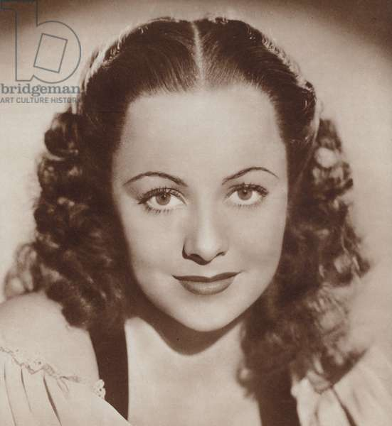 Olivia de Havilland (litho)