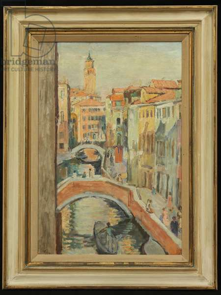 Venice, c.1929 (oil on board)