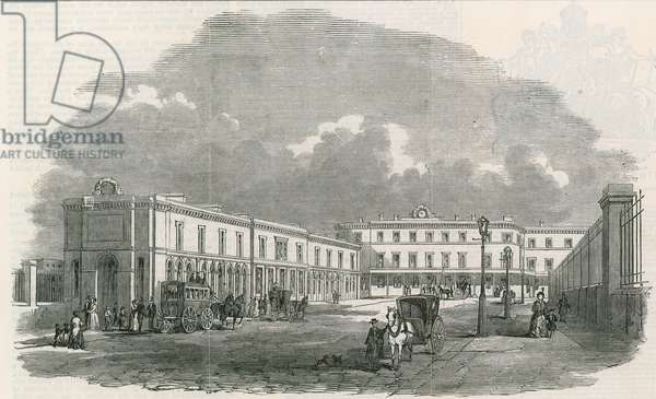 The Terminus of the new South-Eastern Railway at London Bridge (engraving)