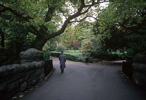 St Stephen's Green referred to in James Joyce 'Ulysses', Dublin, Ireland (photo)