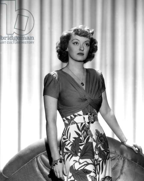 Bette Davis (1908 - 1989) en 1942