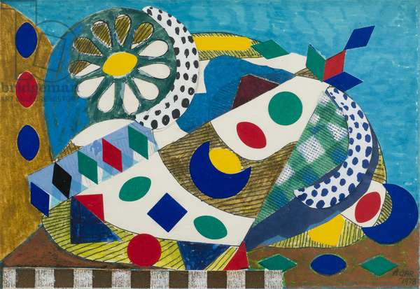 Flower Palette, 1978