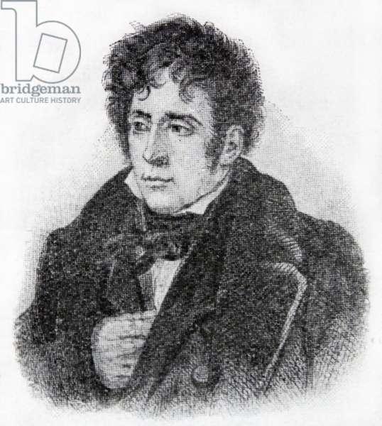 Portrait of François-René de Chateaubriand