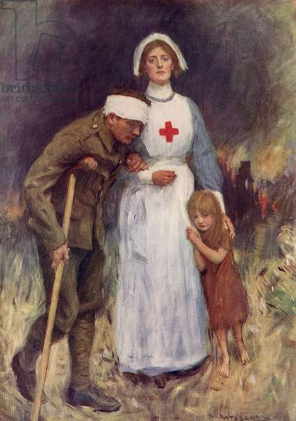 Red Cross Nurse in WWI