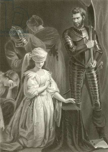 Execution of Mary Queen of Scots (engraving)