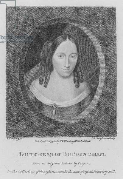 Dutchess of Buckingham (engraving)