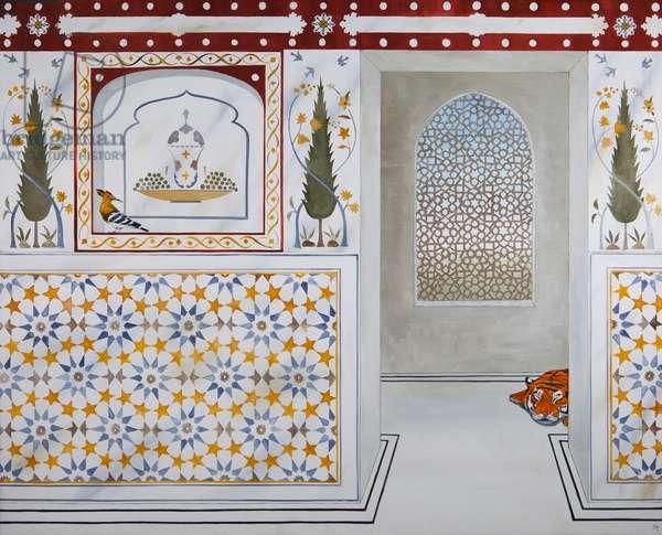 Inner Sanctum, 2014 (oil on linen)