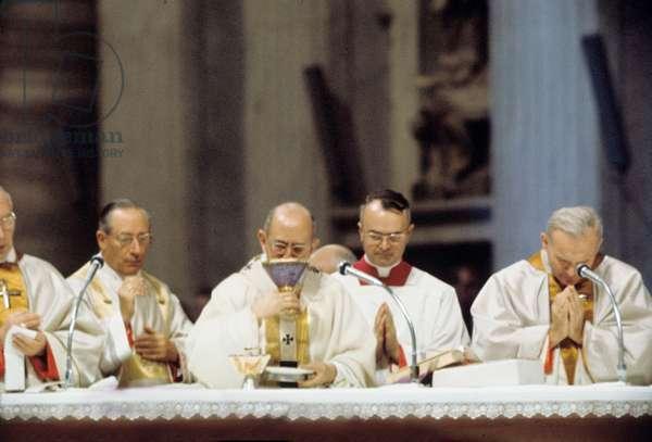 Paul VI et Karol Wojtyla
