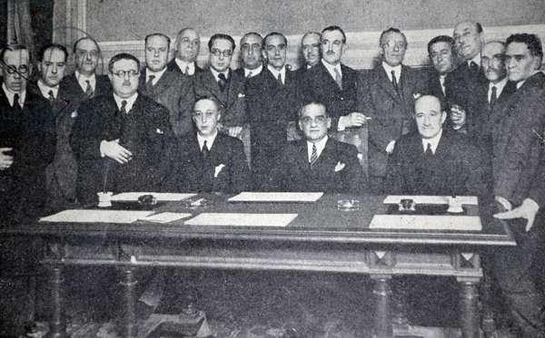 Spanish civil war: traditionalists Deputies