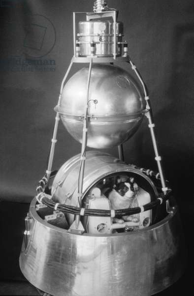 Sputnik 2 Capsule, 1960s.