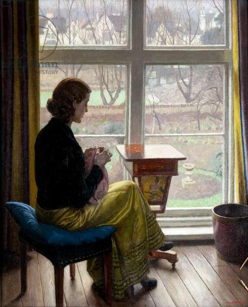 A Window in St John's Wood, c.1932 (oil on canvas)