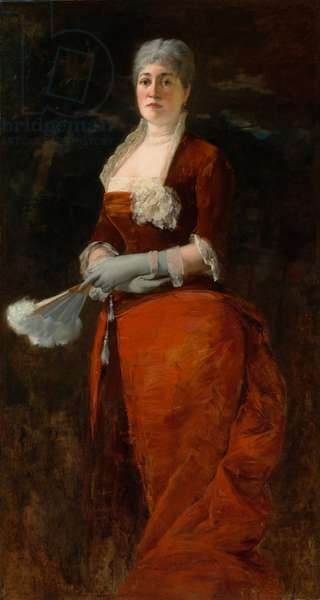 Mary E. Goddard, 1879 (oil on canvas)