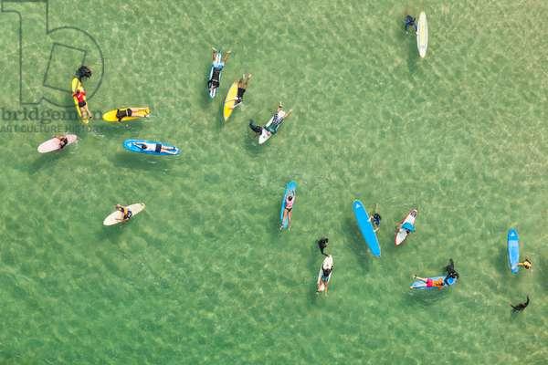 Arpoador beach, 2013 (photo)