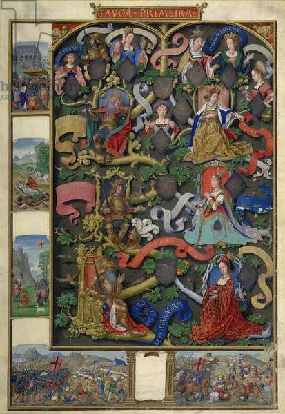 Genealogy of Kings of Navarre