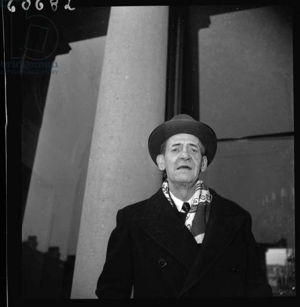 Maurice Utrillo, Paris 1950