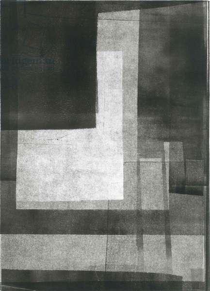 Nocturnus II, 2015, (monoprint on paper)