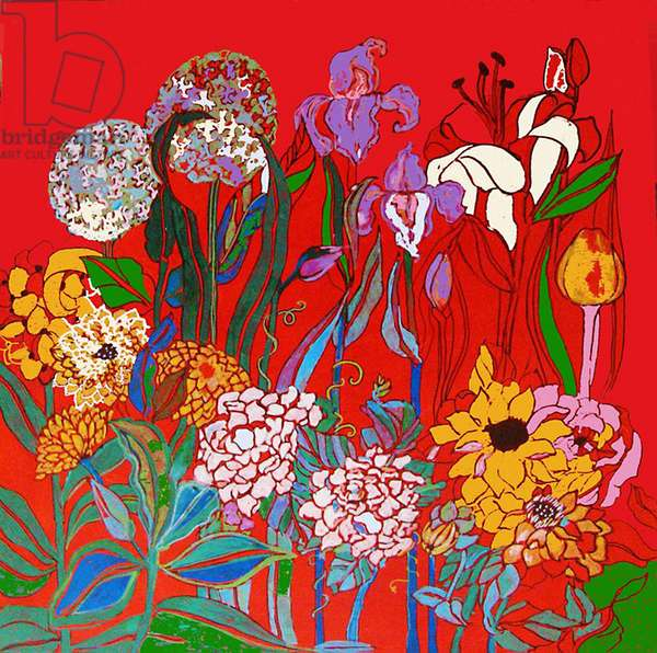 Flowers in Adiana's Garden