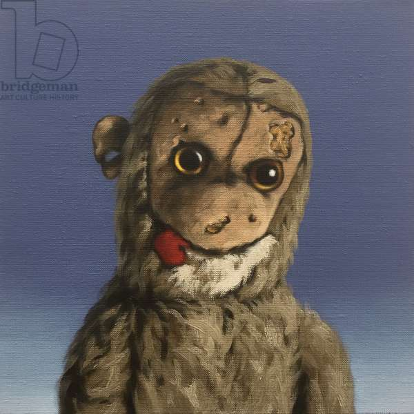 Aaron Monkey, 2016, (oil on canvas)