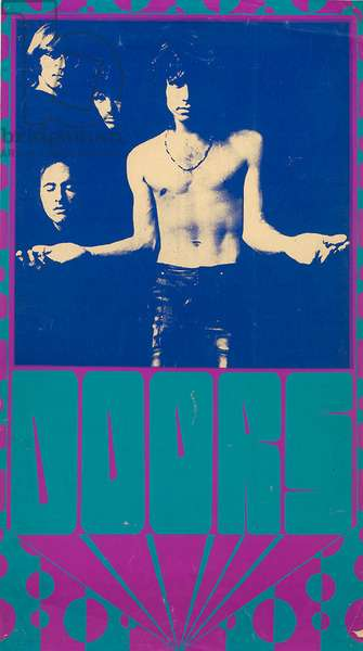 Poster for The Doors, c.1967-79 (screenprint)