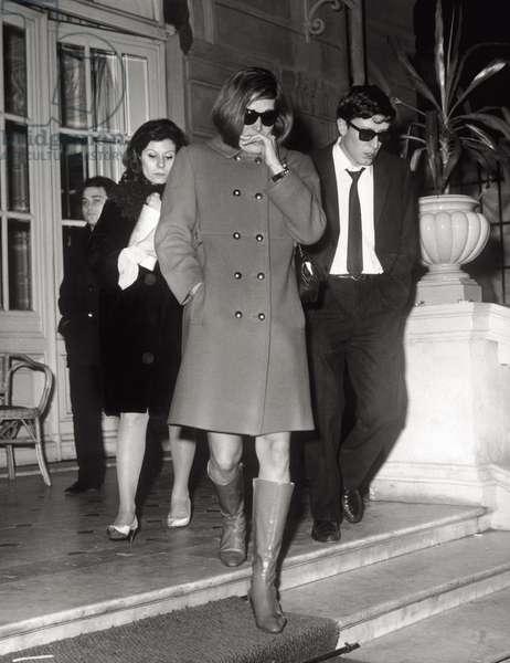 Dalida after Luigi Tenco's death