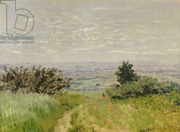 Landscape, Full View of Argenteuil (Hills of Sannois), 1872 (oil on canvas)