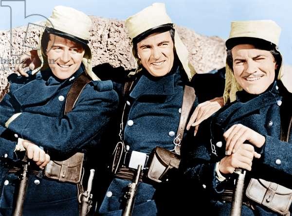 Beau Geste: BEAU GESTE, from left: Ray Milland, Gary Cooper, Robert Preston, 1939