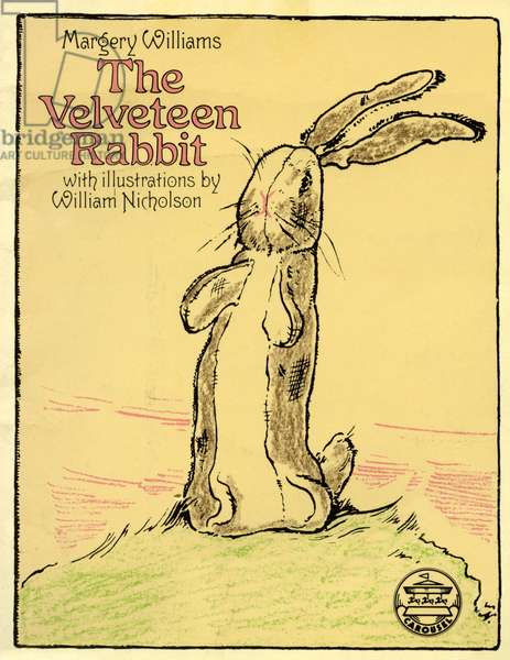 Front cover of 'The Velveteen Rabbit' by Margery Williams, 1976 (colour litho)