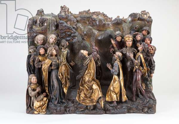 The Scene at Golgotha, c.1470-80 (wood)