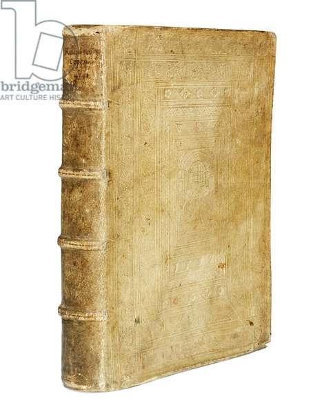 'De Revolutionibus Orbium Coelestium' by Nicolaus Copernicus and 'De Libris Revolutionum Nicolai Copernici Narratio Prima' by Georg Johan Rheticus, two works in one volume, Basel, 1566-67 (see also