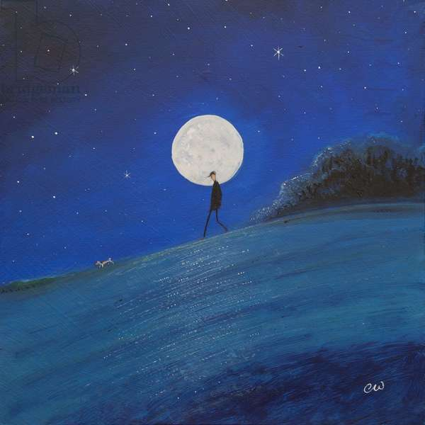 Hunters Moon, 2011, (oil on panel)