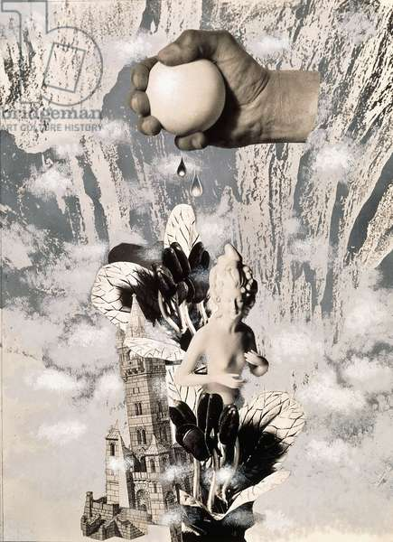 Creation, 1932 (gelatin silver print photomontage, with gouache and ink)