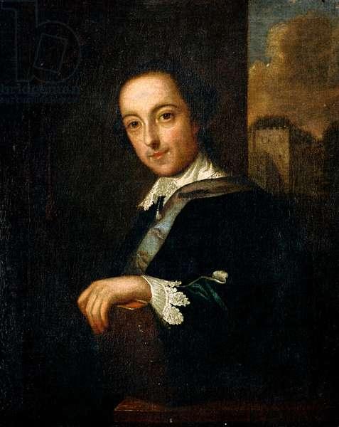 Sir Horace Walpole, c.1755 (oil on canvas)