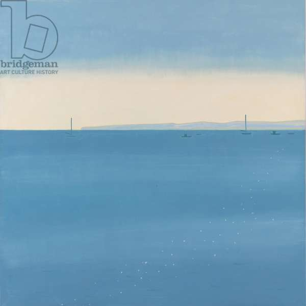 Two Boats, 2002 (oil on canvas)